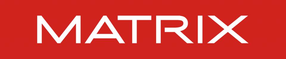 Logo Matrix, kosmetyki do pielęgnacji włosów, salon fryzjerski Tczew, przedłużanie włosów Różyny.